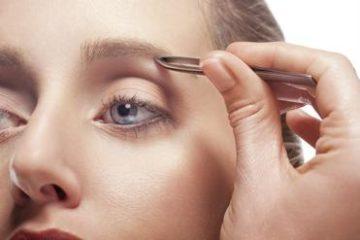 picking eyebrow