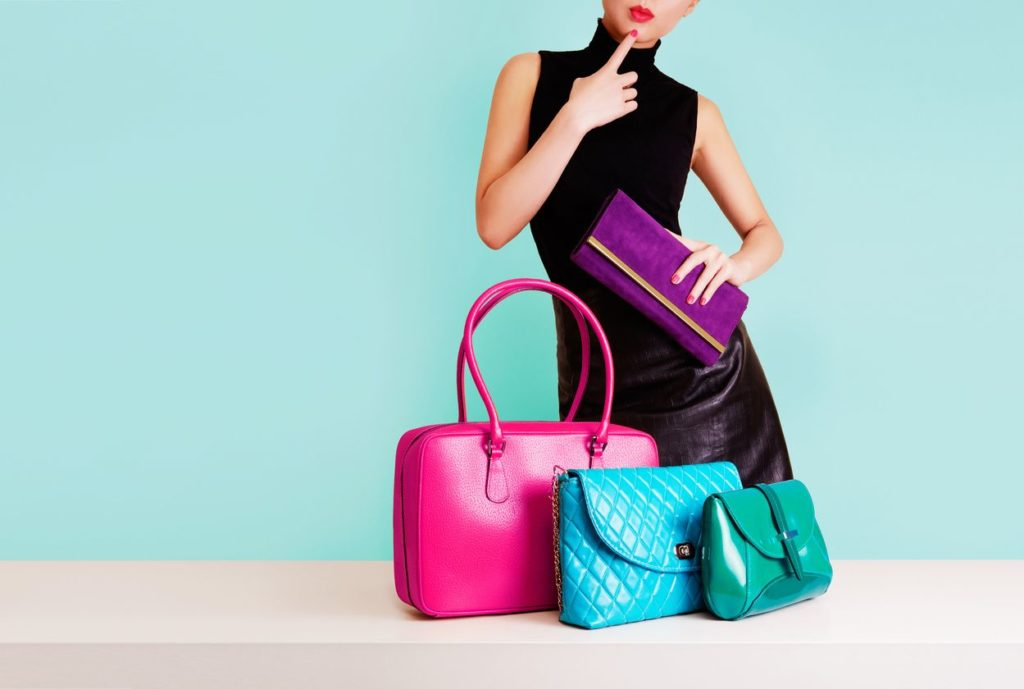colored purses